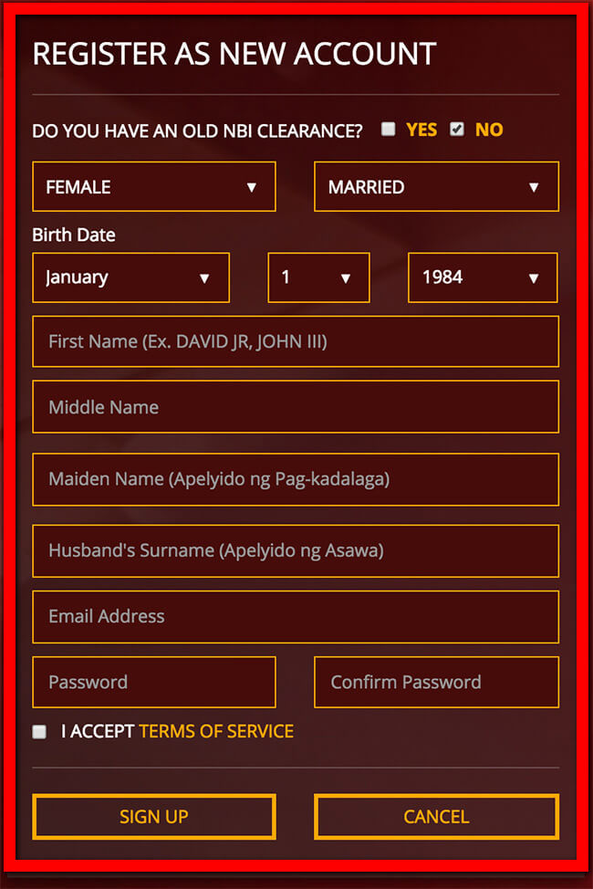 Change Last Name In Nbi Clearance For Married Women Through Online